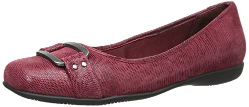 Trotters Women's Sizzle Flat,Dark Red,9 M US by Trotters