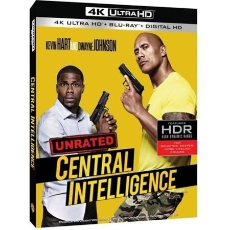 Central Intelligence  4K Ultra Hd   Blu Ray   Digital Hd With Ultraviolet