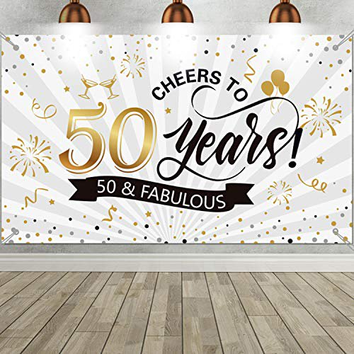 50th Birthday Party Decoration Backdrop Giant Black And Gold Sign Poster For Men Women 50th Birthday Anniversary Photo Booth Background Banner 50th Birthday Party Supplies Walmart Com Walmart Com,Breaded Chicken Breast In Air Fryer