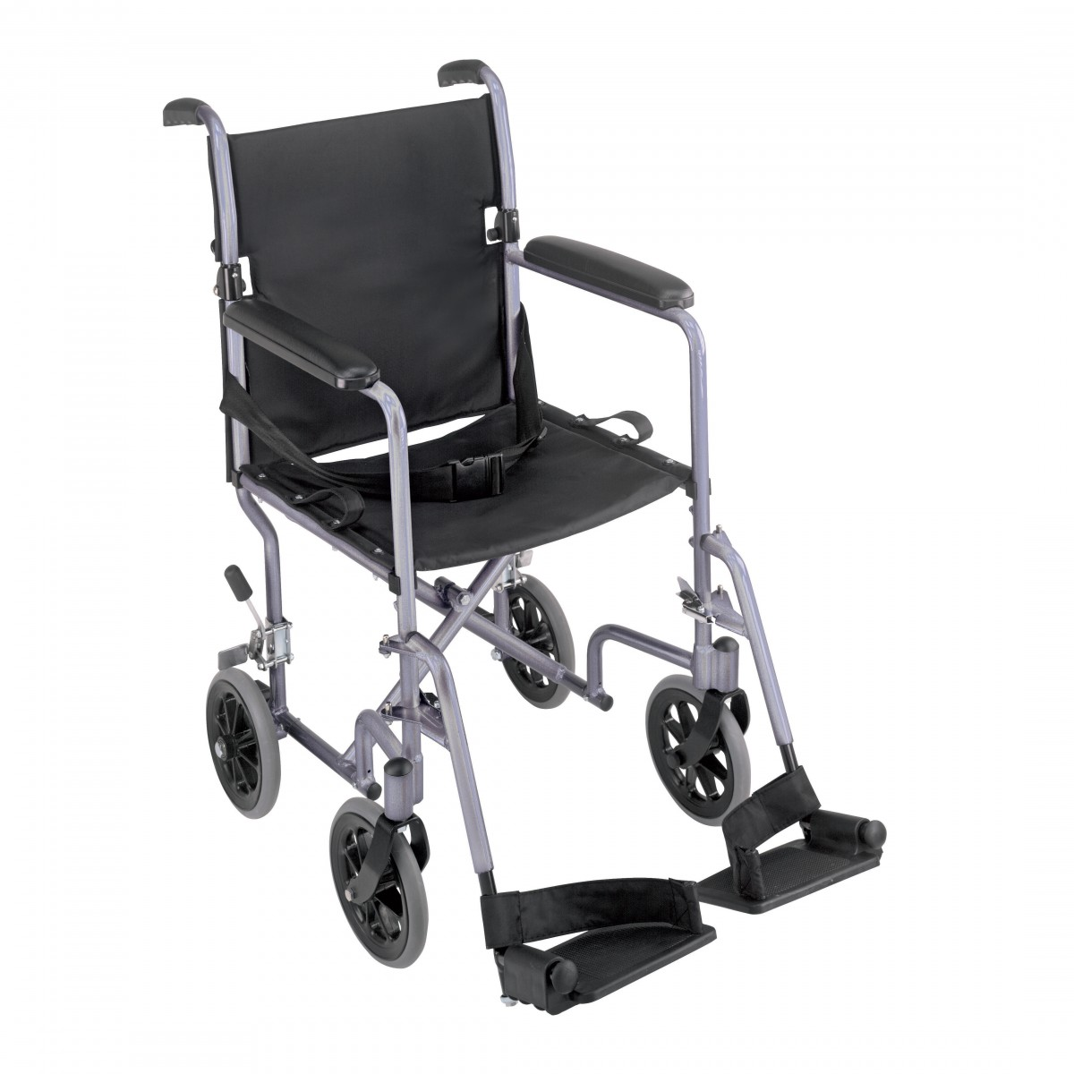 Mabis Ultra Lightweight Aluminum Transport Chair