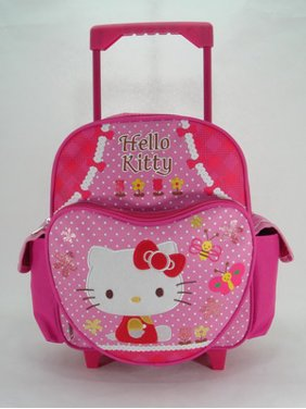 99caef55d35f Product Image Small Rolling Backpack - - Garden New School Book Bag 629885. Hello  Kitty
