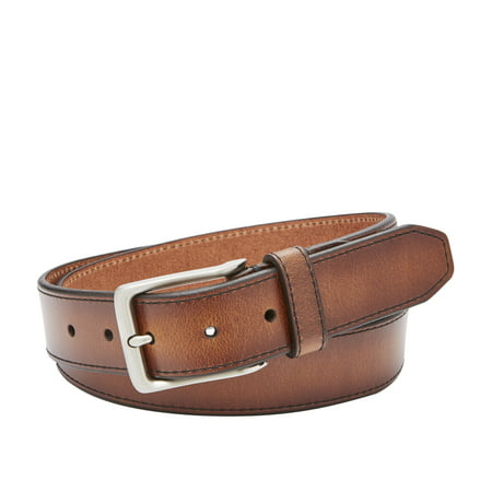 Fossil Griffin Mens Genuine Leather 35MM Belt Casual Jean Belt Fossil Leather Genuine Belt