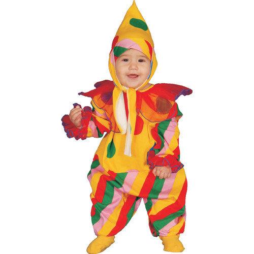 Dress Up America Baby Circus Clown Costume Set