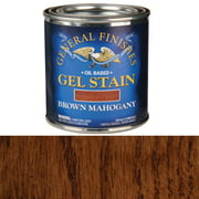 GF Gel Stain, Brown Mahagony, 1/2 Pint