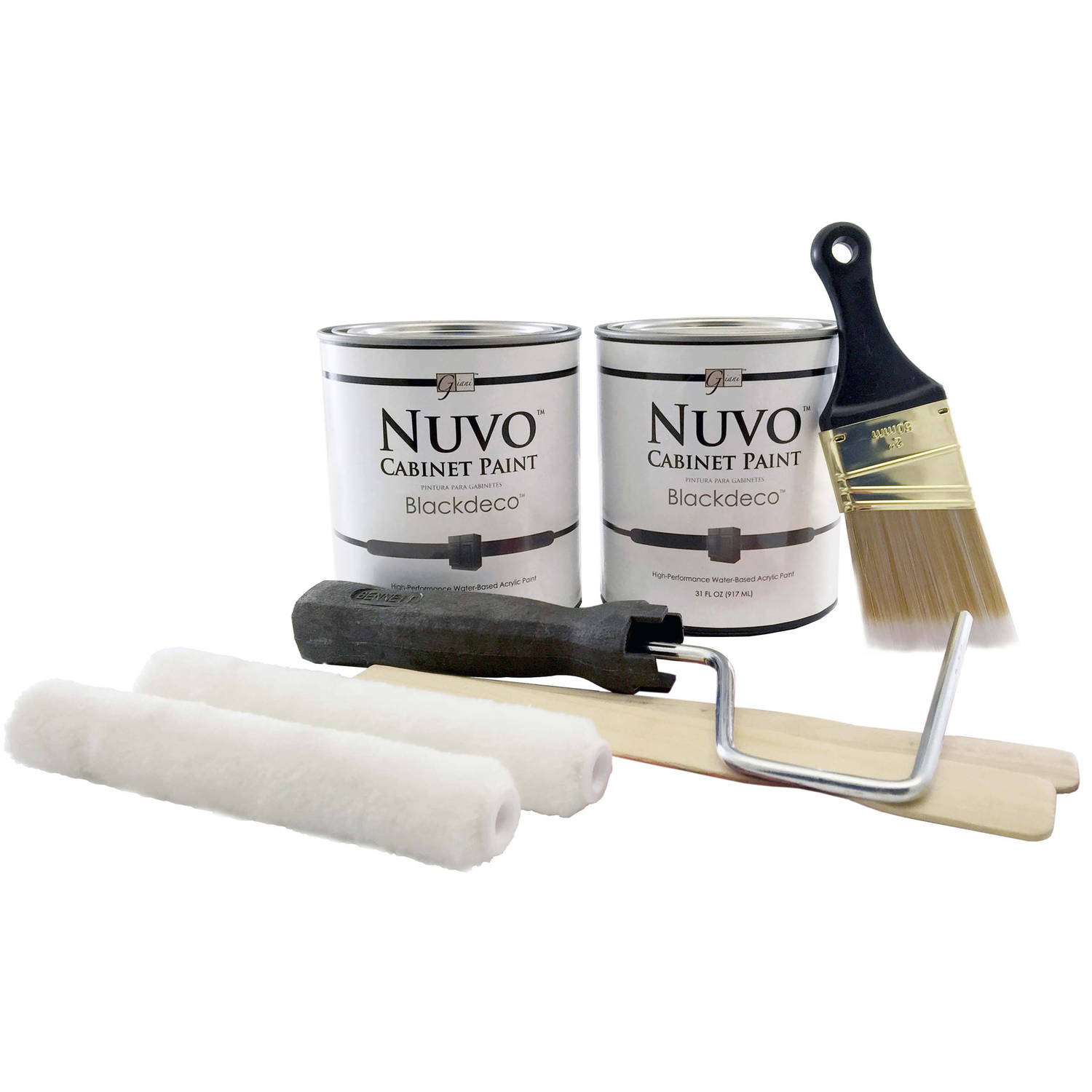 Nuvo Black Deco Cabinet Makeover Paint Kit