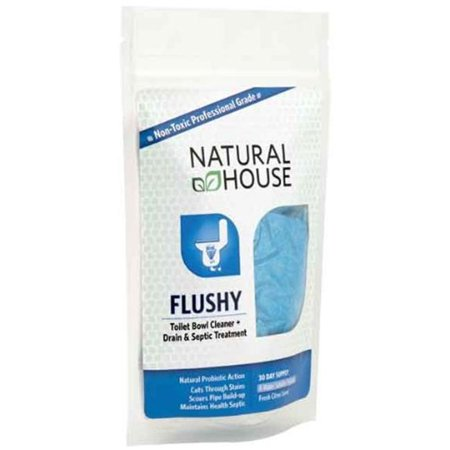 Aquagenics Tech 1402 39 39 Flushy 39 39 Toilet Bowl Cleaner Drain And Septic Treatment 30 Day Supply