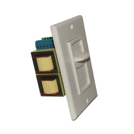 100 Watt Impedance Matching Sliding Volume Control - 3 Color Choices -
