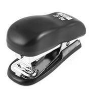 Office School Plastic Shell Portable Hand Press  Stapler Black