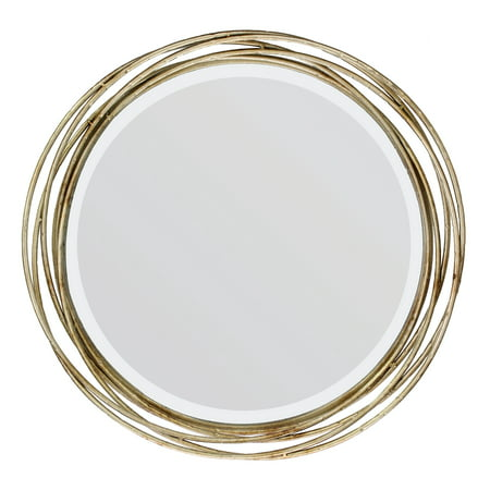 Better Homes and Gardens Round Metal Decorative Wall Mirror ()