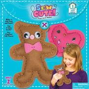 Bear & Heart Sew Cute! Felt Kit-