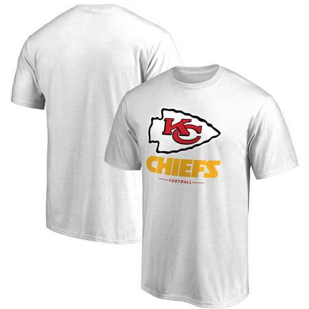 Kansas City Chiefs NFL Pro Line by Fanatics Branded Team Lockup T-Shirt -  White