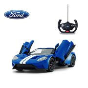 1/14 Scale Ford GT RC Car Licensed Radio Remote Control RTR Sports Car Model Gift Toys for Kids, Open Doors