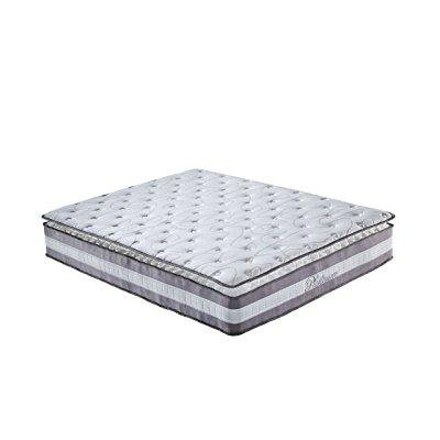 Swiss Ortho Sleep 13 Inch High Density Plush Pillowtop Memory Foam and Innerspring Queen Mattress