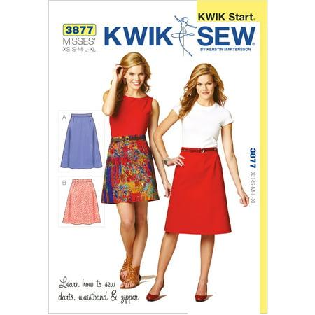 (Kwik Sew Pattern Skirts, (XS, S, M, L, XL))