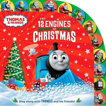 The 12 Engines of Christmas (Thomas & Friends) ()