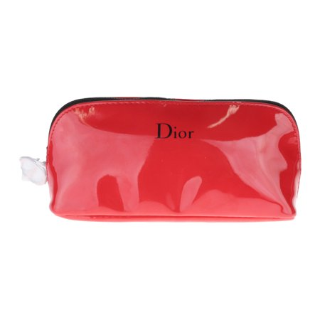 Christian Dior Red Travel Cosmetic Bag New In Box 7