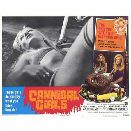 Cannibal Girls POSTER Movie C Mini Promo - Eugene Halloween