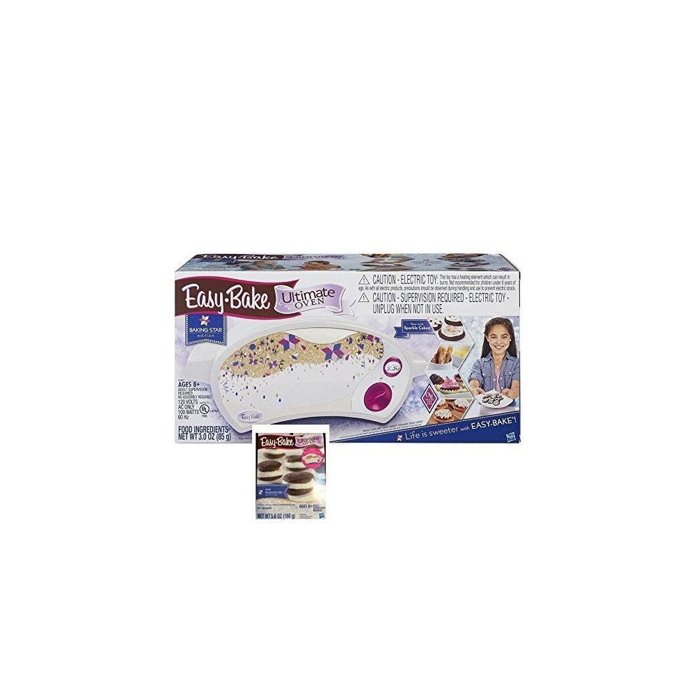Easy Bake Ultimate Oven Baking Star Play Set with Bonus Refill Mix