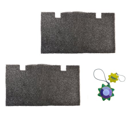 """HQRP 2-pack RV A/C Air Filter Pad for Dometic Duo Therm Air Conditioner 3313107.103 3105012.003 3313107103 3105012003 14""""x7-1/2"""" Replacement + HQRP UV Meter"""