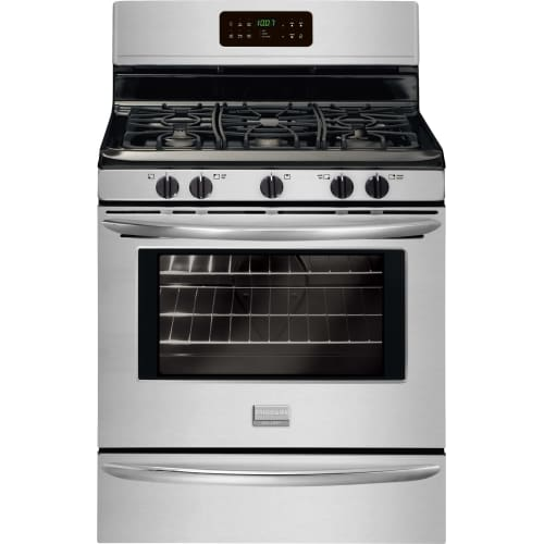 Frigidaire FGGF3030P 30 Inch Gallery Freestanding Gas Range 12 Inch with 5.0 Cu. Ft. Oven, Express-Select® Controls, SpaceWise® Expandable Elements