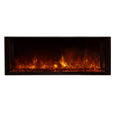 """Modern Flames Landscape 40""""X15"""" Fullview Built In Electric Fireplace"""
