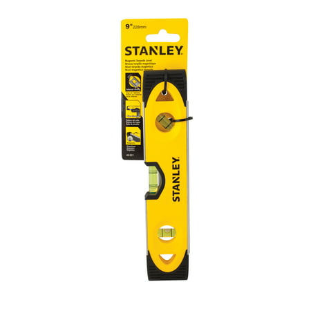 STANLEY 43-511 9-Inch High Impact Torpedo Level