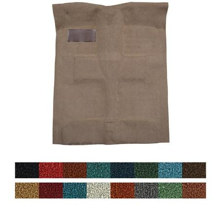 ACC 14085-55-01-STD 1-Piece Carpet Kit, 1955-57 Bel Air, Bright Black Bel Air Carpet Kit