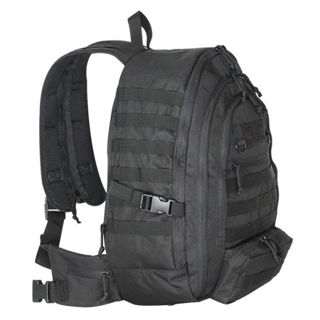 Voodoo Tactical 15 0060 Convertible Ruck Sling Pack With Molle Webbing