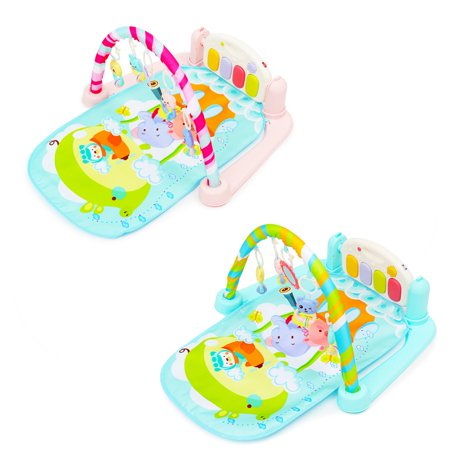 Moaere 5 In 1 Baby Infant Gym Activity Floor Play Mat