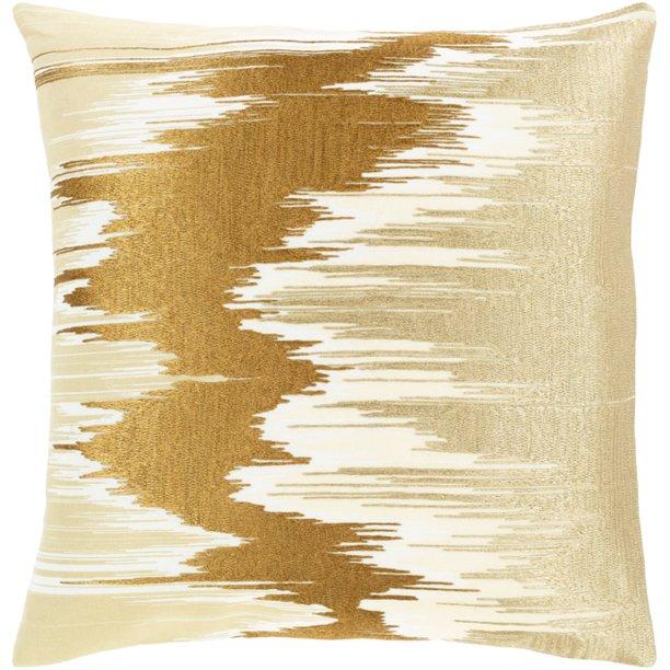 Surya Lexi 18 X 18 Cotton Pillow Cover Lxi002 1818 Walmart Com Walmart Com