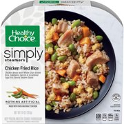 Healthy Choice Simply Steamers Frozen Dinner Chicken Fried Rice 10 Ounce