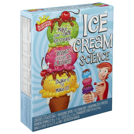 Scientific Explorer Ice Cream Science Kit - Science Kits For 8 Year Olds