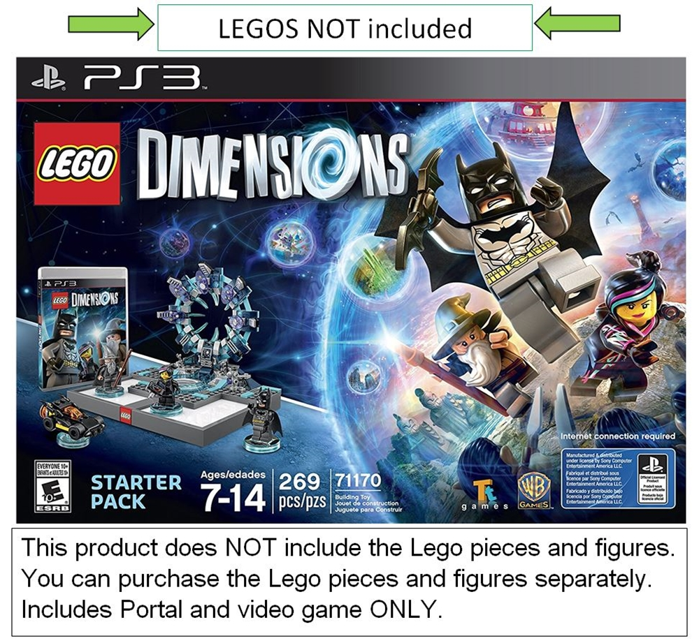 Lego Dimensions Starter Pack for Playstation 3 (PS3) ( - ...