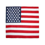 CTM Cotton USA Flag Bandanas
