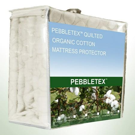 Greenzone Pebbletex 100% Organic Cotton Waterproof Mattress Protector Waterproof Organic Cotton Flat
