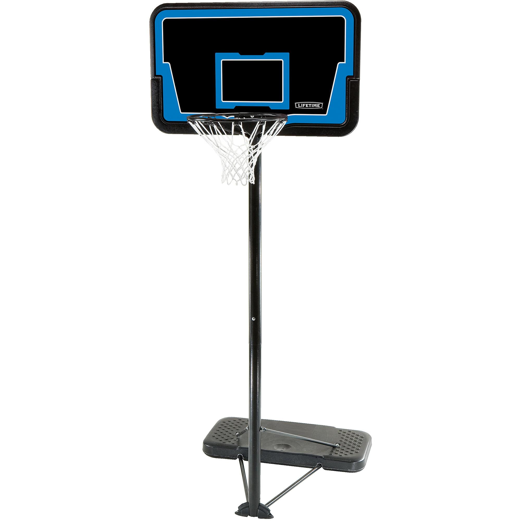 "Lifetime Stream Line 44"" Steel Portable Basketball Hoop"