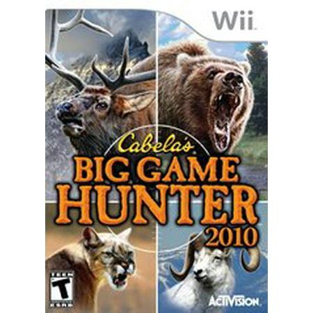 Cabelas Big Game Hunter 2010 - Nintendo Wii (Refurbished) - Dog Bounty Hunter Wig