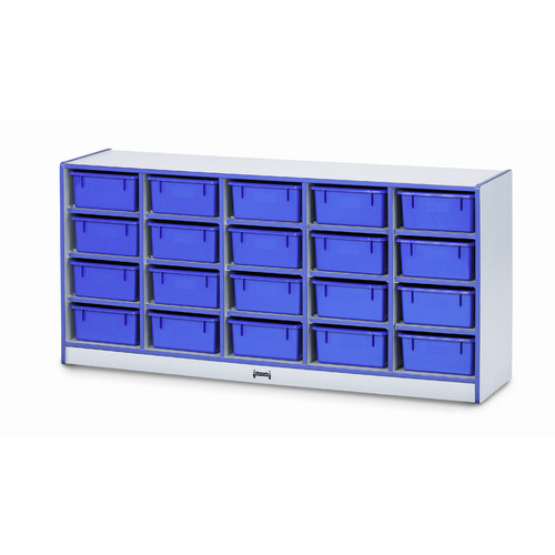 Jonti-Craft Single Tub 20 Compartment Cubby