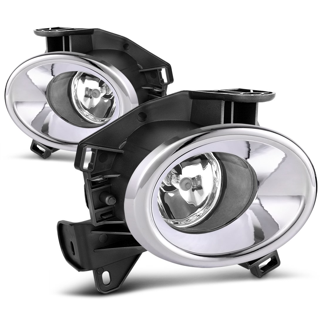 factory style chrome fog lights for nissan pathfinder 2013 2014 2015 2016 (clear lens with bulbs \u0026 wiring harness) Dodge Ram 1500 Fog Light Wiring