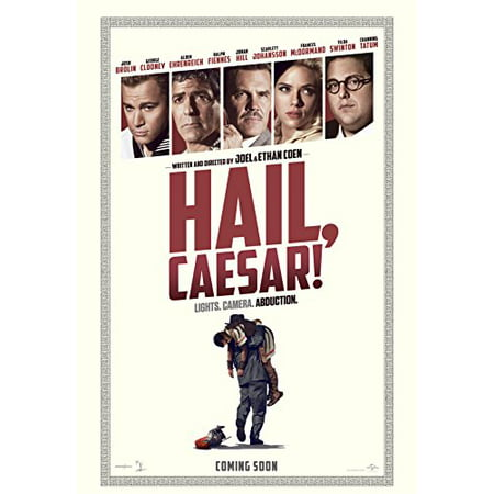 Hail  Caesar    Poster 24  X 36  On Glossy Photo Paper  Thick 8Mil  2016  George Clooney  Channing Tatum  Scarlett Johansson