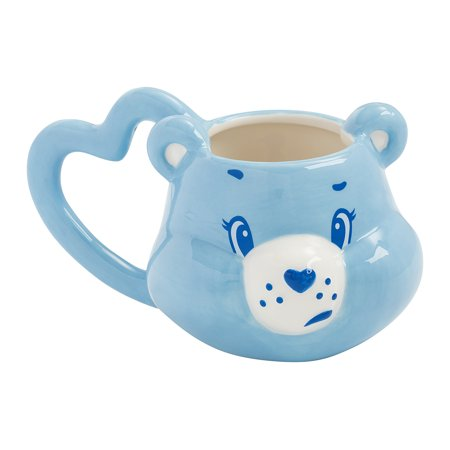 - Care Bears Grumpy Bear Sculpted Ceramic Mug