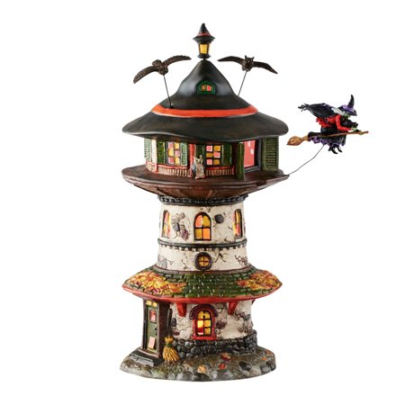 Dept 56 Halloween Village Accessories (Dept 56 Halloween Village 4051009 Witch Way Home)