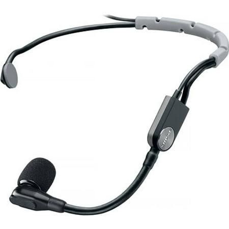 Cardioid Headset (Shure SM35-XLR Wired Cardioid Condenser Headset Microphone w/ Windscreen & Inline XLR Preamp)
