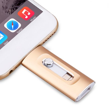 3 In 1 Usb Flash Drive 16Gb 32Gb 64Gb 128Gb Pen Drive For Cellphone X/8/7/6 Plus - image 8 of 8