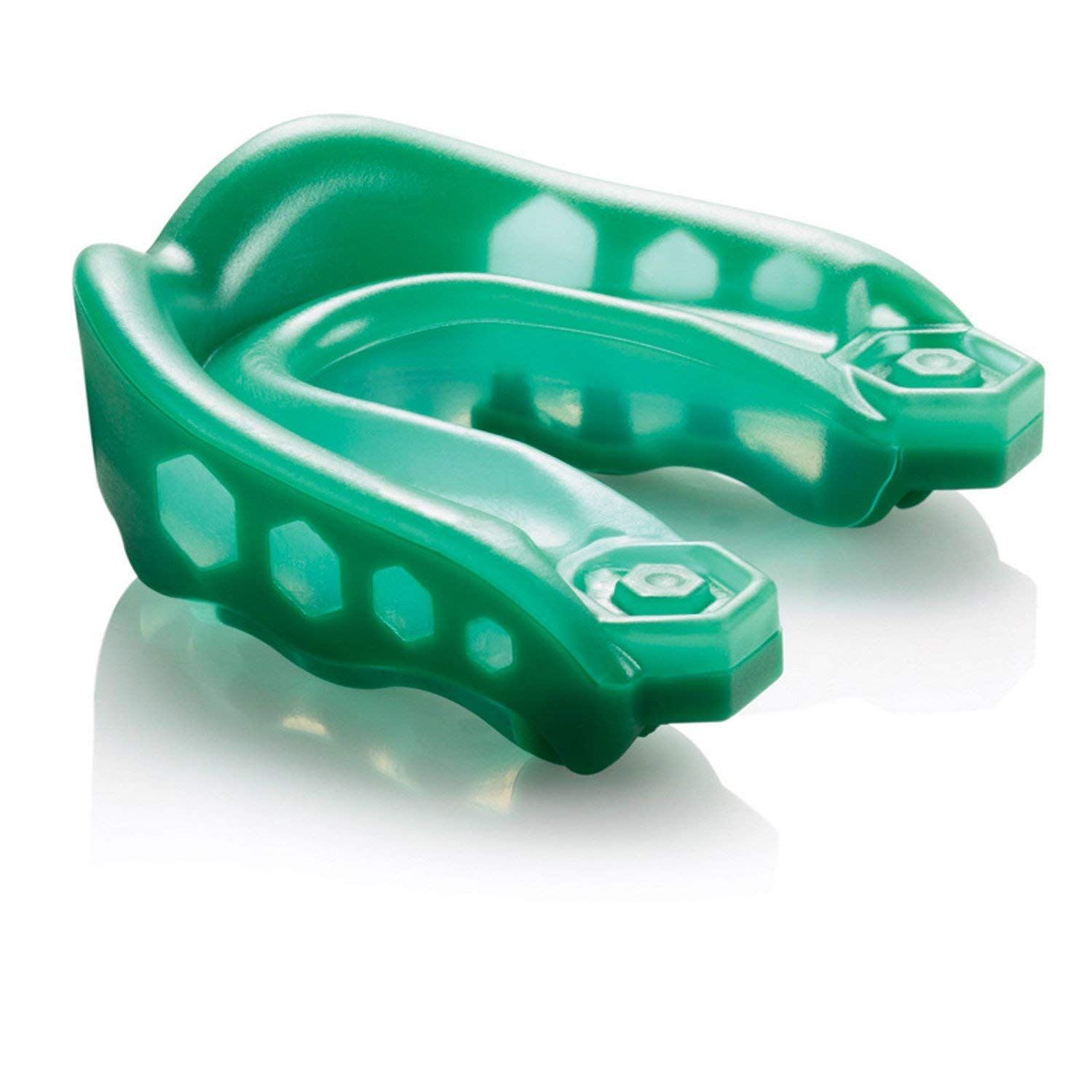 Shock Doctor Adult Gel Max Strapless Mouthguard (Green)