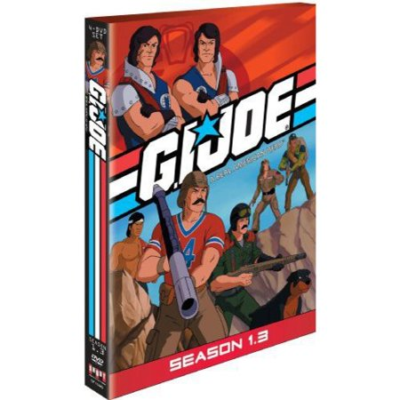 Gi Joe Real American Hero  Season 1 3  Full Frame