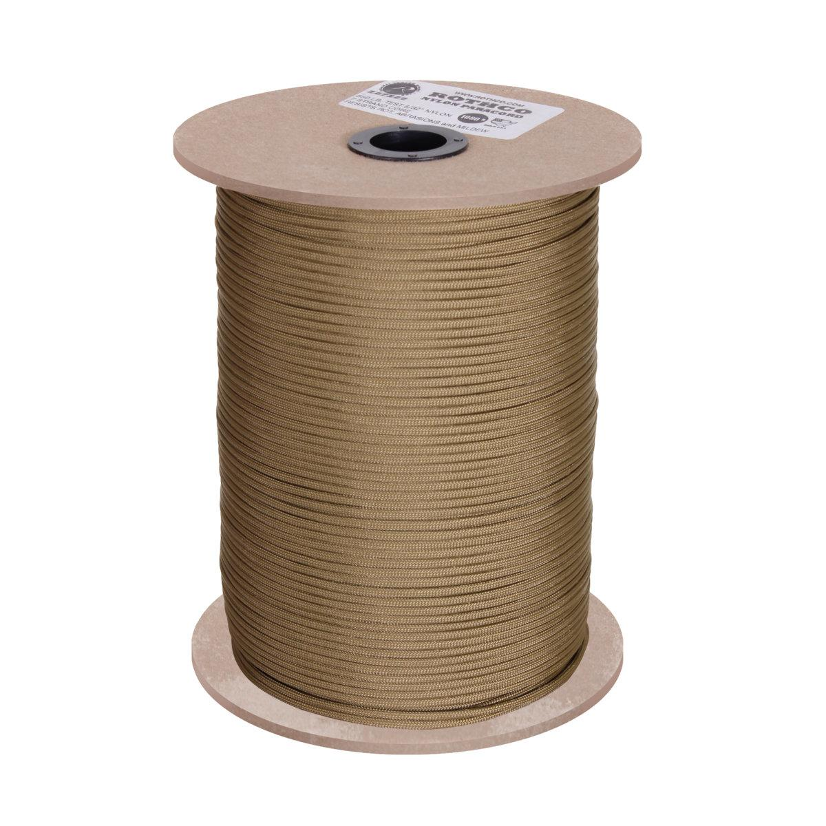 Made in the United States 550 Paracord for Paracord Crafts 1000 Foot Spool Digital Viper