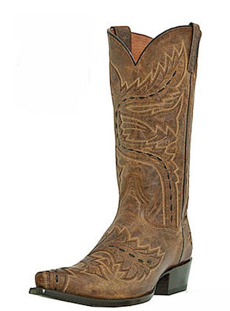 Dan Post DP2233 Men's Tan Sidewinder Western Boots by DAN POST