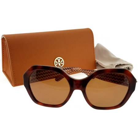 Tory Burch TY7120-165873-57 Women's Tortoise Frame Brown Lens Genuine (Tory Burch Sunglasses)
