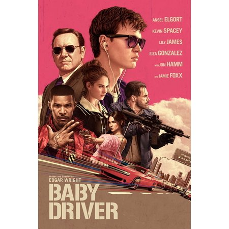 Baby Driver  Blu Ray   Digital Hd